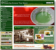 EU2009Japanese Matcha Green Tea Store  